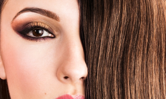 StoneHouse Hair & Nails - Davison: Haircut with Conditioning, and Facial Wax at StoneHouse Hair & Nails ($23 Off)