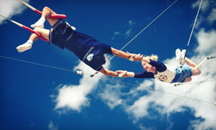 The Levis JCC Presents: Trapeze-Experience West Palm Beach - West Palm Beach: $37 for a Two-Hour Group Trapeze Lesson at The Levis JCC Presents: Trapeze-Experience West Palm Beach ($75 Value)