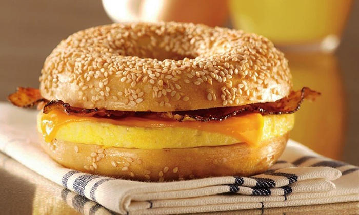 Bruegger's Bagels - Albany / Capital Region: $50 for a $100 Gift Card Good for Bagels, Bagel Sandwiches, Deli Food, and Drinks at Bruegger's Bagels