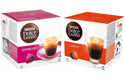 Nescafe Dolce Gusto Pods ThreePacks – 48 Pods