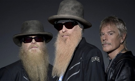 ZZ Top with Blackberry Smoke & Goodbye June on September 3 at 7:30 p.m.