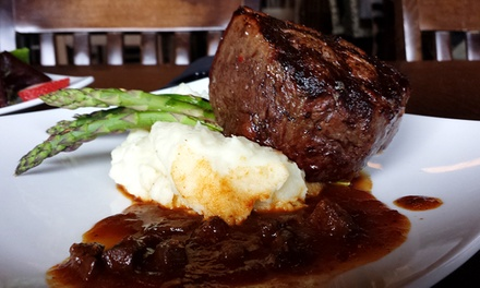 $28 for $40 Worth of Gourmet American Cuisine for Dinner at The Scotch and Vine