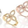 Olive & Winnie Flower Rings