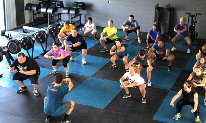 CrossFit HighGear - Multiple Locations: Five CrossFit Classes at Crossfit Highgear (75% Off)