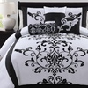 Camille 7-Piece Flocked Comforter Set