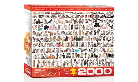 Cats 2,000-Piece Puzzle