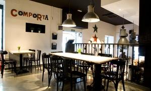 Comporta: Menú Premium para 2 personas con entrante, principale, postres y 1 botella de vino o bebida desde 29,95 € en Comporta