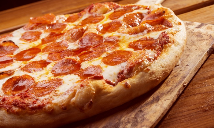 Pizza for U - Multiple Locations: $17 for $30 Worth of Pizza and Sandwiches at Pizza for U