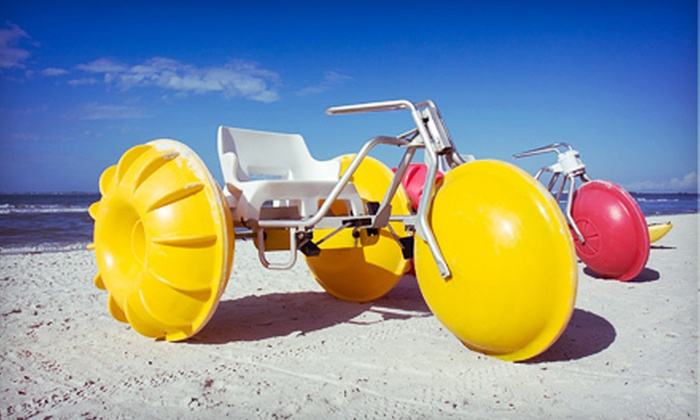 Power Up Watersports - Marsh Harbor: $18 for a One-Hour Aqua-Trike Rental for Two from Power Up Watersports ($40 Value)