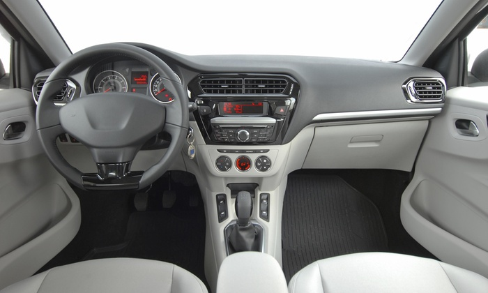 Steam Go Green - Los Angeles: Full Vehicle Detail and interior Sanitizing from Steam Go Green (50% Off)
