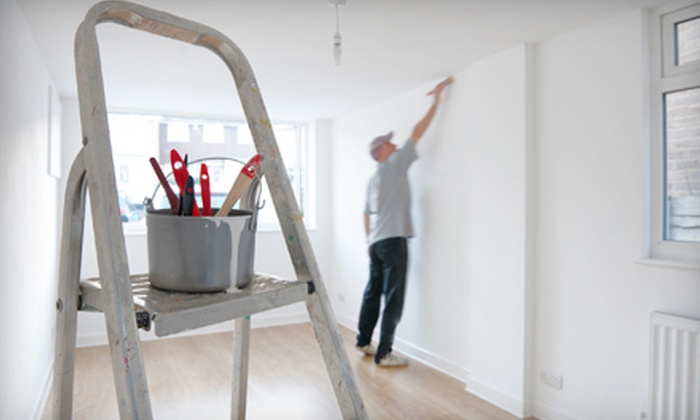 Miller Pro Painting - Akron / Canton: Painting for One or Three Rooms from Millers Pro Painting (Up to 75% Off)