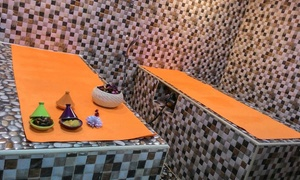 Mely Beauty Center: Moroccan Bath and Optional Hair or Spa Treatment, Mani-Pedi, and Hair Colour at Mely Beauty Center (Up to 66% Off)