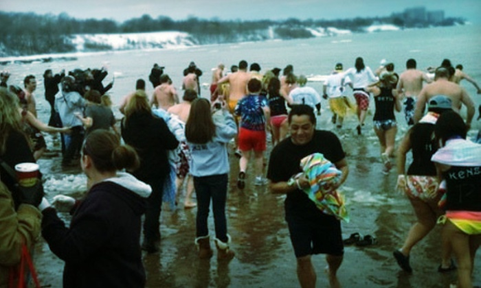 Cleveland Polar Plunge - Detroit - Shoreway: $19.99 for the Cleveland Polar Plunge with a Commemorative Knit Hat and an Afterparty ($40 Value)