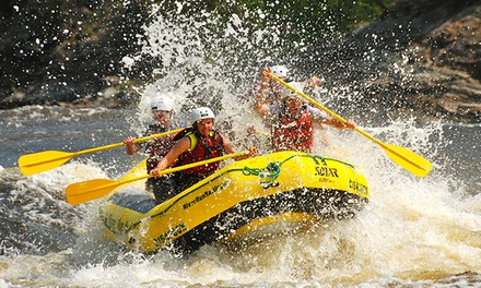 $75 for a Whitewater-Rafting Trip with Barbecue Lunch from RiverRun Rafting & Wilderness Resort ($136 Value)