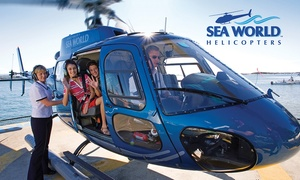 Sea World Helicopters: Sea World Scenic Helicopter Flight from $45 at Sea World Helicopters, Main Beach (Up to $149 Value)