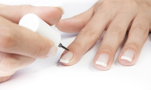 Nails by Jacqueline: Up to 64% Off Vinylux or Regular  Mani-Pedi at Nails by Jacqueline