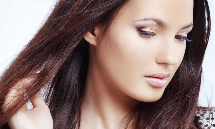 Haircut with Optional Color or Highlights or Keratin Treatments at Goddess Hair Salon (Up to 64% Off)