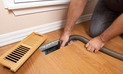 image for Up to 79% Off <strong><strong>air</strong> Duct Cleaning</strong> at STORM <strong>air</strong> & carpet services