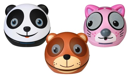 Impecca Zoo-Tunes Portable Bluetooth Animal Speaker. Multiple Animals Available.