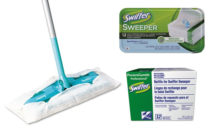 Swiffer Mop Or Refill Systems Swiffer Wet Or Dry Mop Or