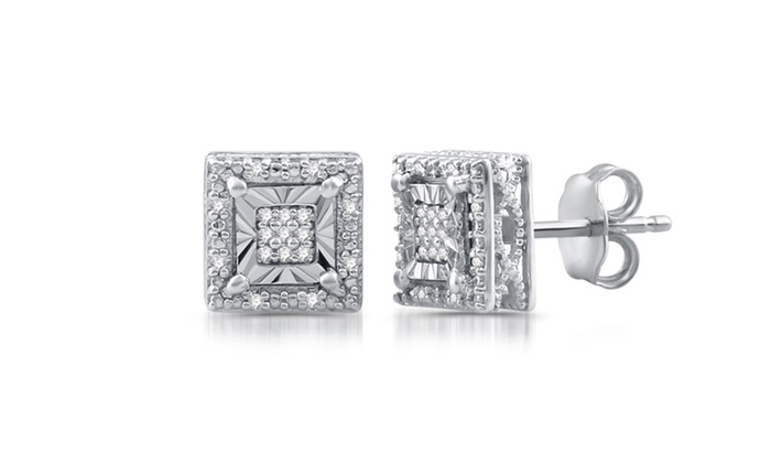 picture stud diamond buy tone square alena earrings shaped of american large