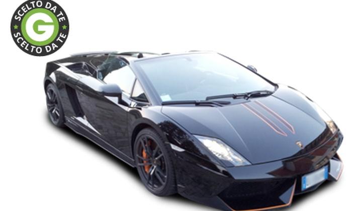 Bullbar - BULLBAR: Test drive su strada con Lamborghini Gallardo a 99 € invece di 250