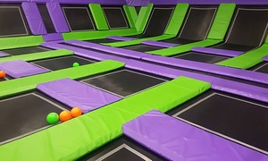 Two, Four, Or Six Jump And Play Passes At Jump Off Indoor Trampoline Park And Fun Zone (up To 51% Off)