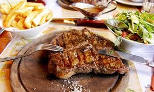 L'Antre Nous: 1 côte de bœuf d'1kg avec frites maison et salade pour 2 personnes à 29,90 € au restaurant L'Antre Nous