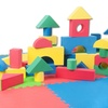 Tadpoles Foam Playmat and Blocks Set (120-Piece)