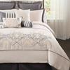 10-Piece Delphine Embroidered Comforter Set
