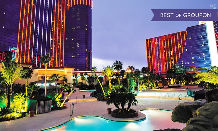 All-Suite 4-Star Vegas Casino Hotel w/ Buffet Passes