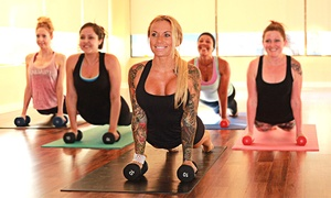 Reach Yoga: One Month of Unlimited Yoga Classes or 10 Yoga Classes at Reach Yoga (Up to 55% Off)