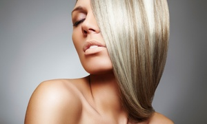 Classic Cuts Salon: Haircut and Conditioning with Optional Color or Partial or Full Highlights at Classic Cuts Salon (Up to 51% Off)