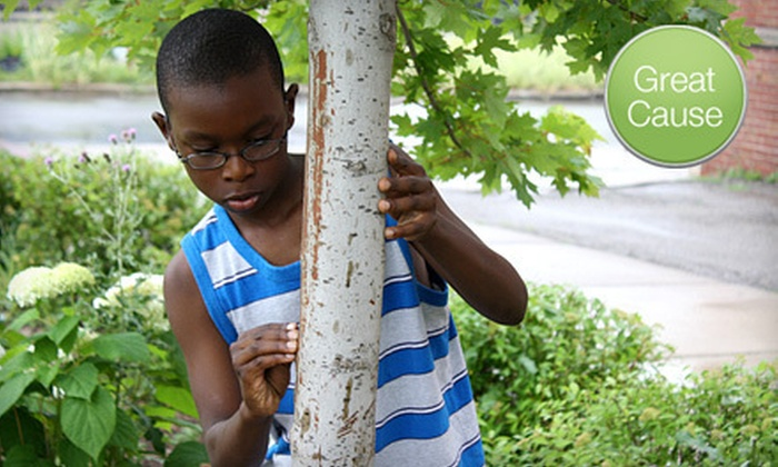 The Greening of Detroit - Theater District,Corktown,Downtown: If 60 People Donate $10, Then 60 Children Can Attend The Greening of Detroit's Environmental Summer Day Camp
