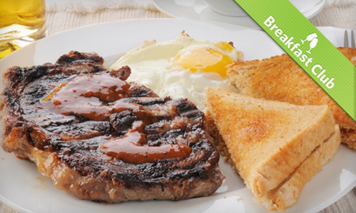 Talia's Steakhouse & Bar - Upper West Side: $29 for Brunch for Two with Entrees and Breakfast Cocktails at Talia's Steakhouse & Bar (Up to $68 Value)