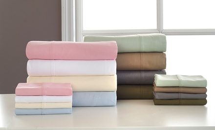 Martex Atelier 4-Piece 100% Cotton Sheet Set. Multiple Options from $59.99–$69.99.