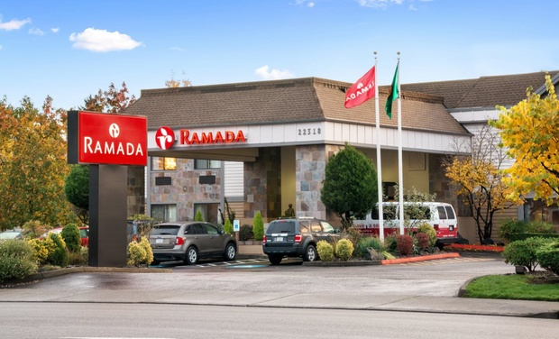 TripAlertz wants you to check out Stay at Ramada Kent Seattle Area in Kent, WA, with Dates into June Convenient Hotel South of Seattle - Comfy Hotel near Seattle