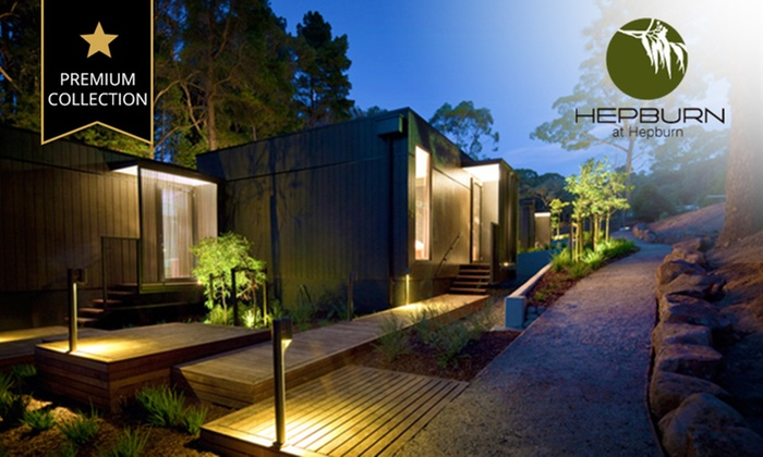 Hepburn at Hepburn - Hepburn at Hepburn: Daylesford: One-, Two- or Three-Night Secluded Villa Stay for Two People with Welcome Pack at Hepburn at Hepburn