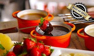 IN La fonderie - Die Genießerei: Schokoladenfondue für Zwei, Vier oder Sechs in La Fonderie – Die Genießerei (bis zu 50% sparen*)