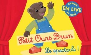 """Label LN: 1 place assise libre pour adulte ou enfant au """"Petit Ours Brun"""", le dimanche 28 janvier 2018 à 19 € au NEC de Marly"""