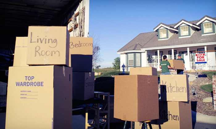 Big League Movers - East Chastain Park: Two Hours of Moving with Option for Boxes and Bags from Big League Movers (Up to 51% Off)