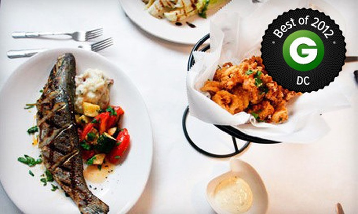 Chef Tony's Restaurant - Washington DC: Three-Course Prix-Fixe Seafood Dinner for Two or Four at Chef Tony's Restaurant (Up to 55% Off)