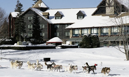 Four Diamond Fairmont Lodge in Quebec Wilderness