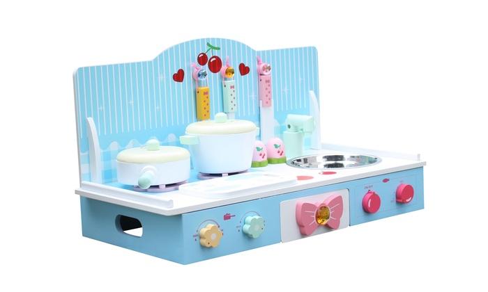 Keuken Kinderen Houten : Liberty house toys keuken groupon goods