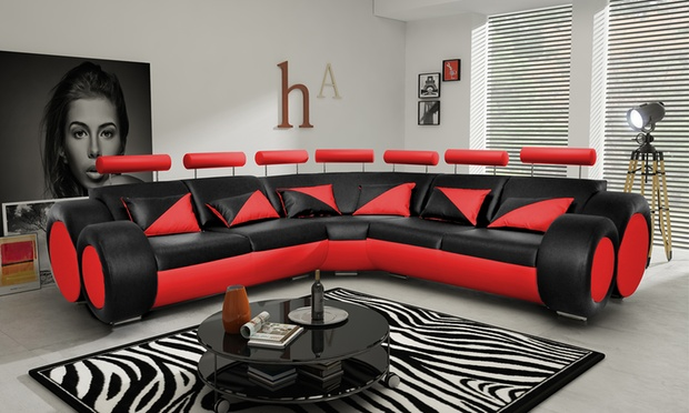 Monaco Modular Corner Sofa