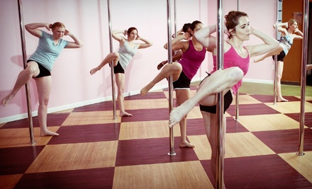 Washington DC: $22 for Three Pole-Dance or Other Fitness Classes at Pretty Lady Pole Fit (Up to $45 Value)