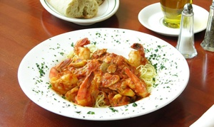 Ciao Ristoranté: Italian Cuisine for Dinner or Lunch for Two or More at Ciao Ristorante (45% Off)