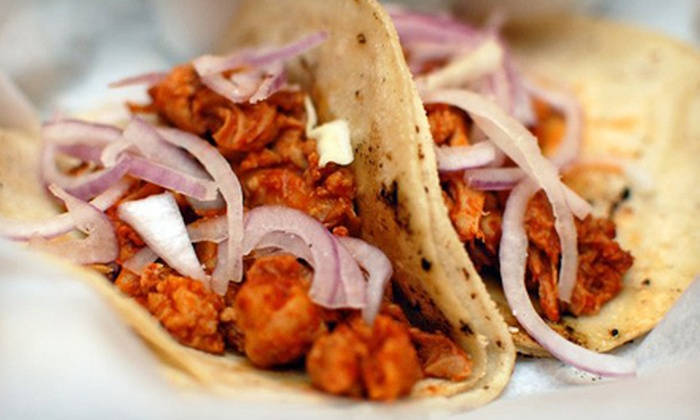 La Condesa Gourmet Taco Shop - Encanto: Mexican Cuisine for Lunch or Dinner at La Condesa Gourmet Taco Shop (Half Off)