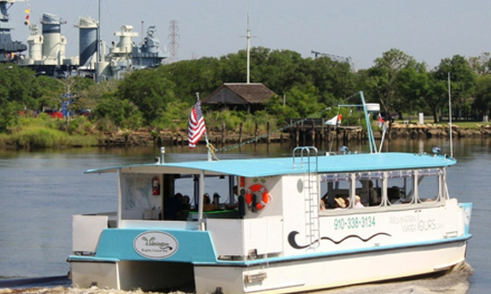 Wilmington Water Tours - Wilmington: Two-Hour Sunset Cruise or Blackwater Adventure Boat Tour for Two or Four from Wilmington Water Tours (Up to 55% Off)