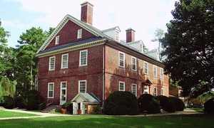 Berkeley Plantation: Berkeley Plantation Visit for Two or Four (50% Off)